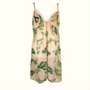Webster Pink Flamingo Tropical Nightgown Cami